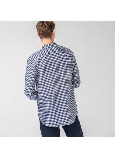Lacoste Erkek Slim Fit Gömlek CH0053.53L Lacivert